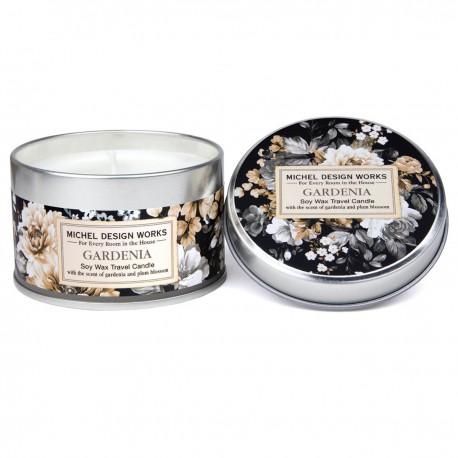 Gardenia Travel Candle