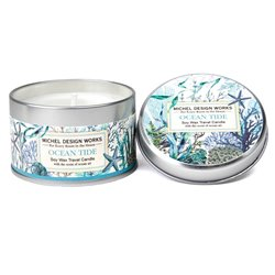 Ocean Tide Travel Candle