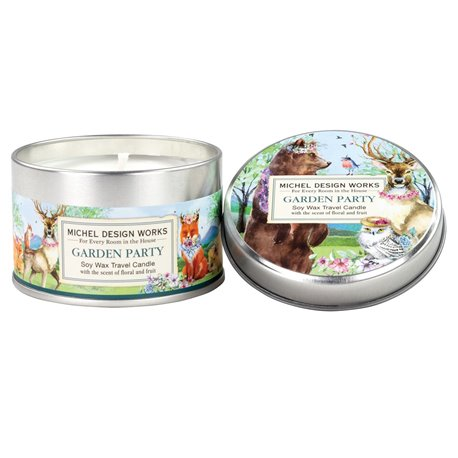 Garden Party Travel Candle