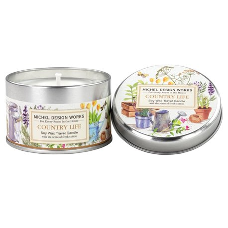Country Life Travel Candle