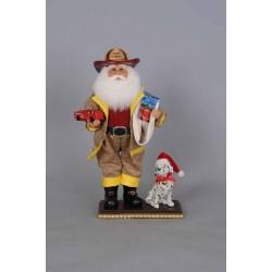 Karen Didion Fire Chief Santa