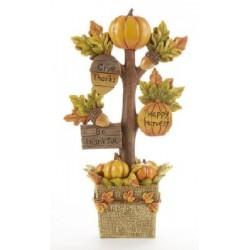 Resin Fall Pumpkin Tree