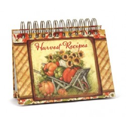 Harvest Recipes Easel Book