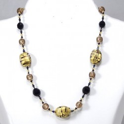 Necklace Jasmine-Black