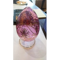 Glass Egg Lotus