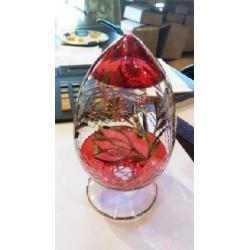 Glass Egg Flower