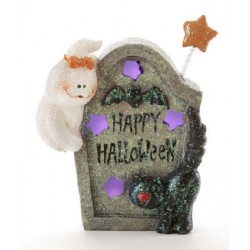 LED Ghost Tombstone