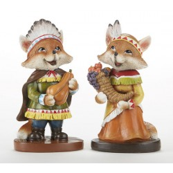 Resin Indian Fox