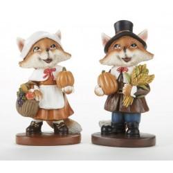Resin Pilgrim Fox