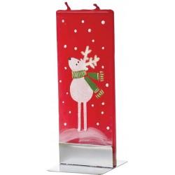 Flatyz Candle: Reindeer Green Scarf