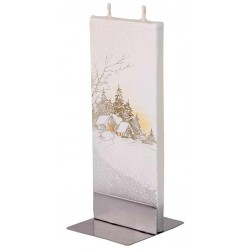 Flatyz Candle: Winter Scene