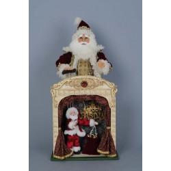 Karen Didion Vintage Marionette Santa