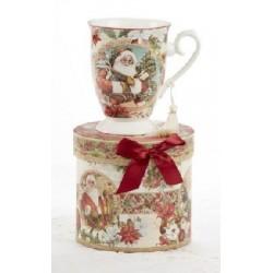 Santa Porelain Mug Gift Boxed