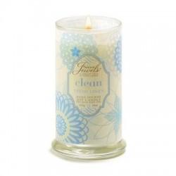Secret Jewels Candle: Clean Fresh Linen