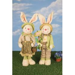 Large Farmer Bunny Stander