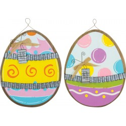 Colorful Easter Egg Hanger