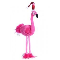 35 Inch Standing Flamingo