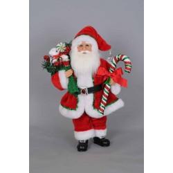 Karen Didion Candy Cane Santa