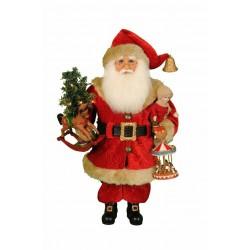 Lighted Carousel Dreams Santa