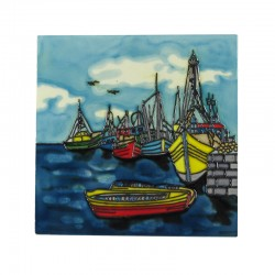 Sail Boat Tile