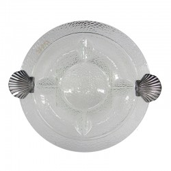 "16"" Glass Round Plate"