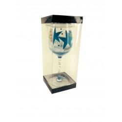 Star Fish Wine Glass