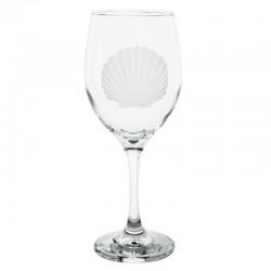 Scallop Shell Wine Glass