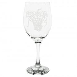 Grapes Wine Glass