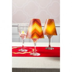 Vellum Shade Orange Red