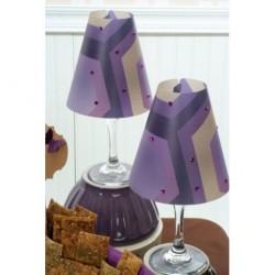 Vellum Shade Purple Geometric