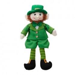 Small Leprechaun Doll Sitter
