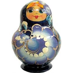 Russian 5 Piece Natasha Nested Doll Set