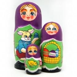 Easter Spring Holiday 3-Nest DollSet
