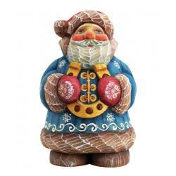 Santa Horseshoe Figurine