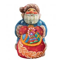 Santa Toy Bag Figurine