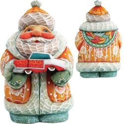 Santa Car Figurine