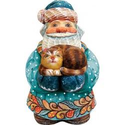 Santa Kitty Caretaker Figurine