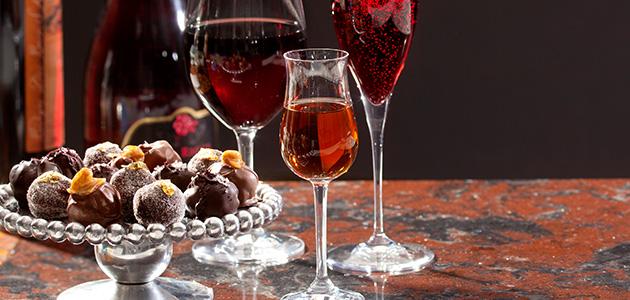 Pairings wine-chocolate