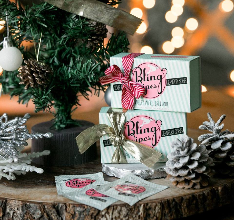 Bling Wipes Christmas
