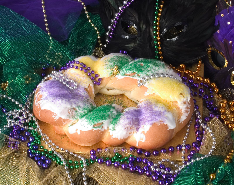 The gifted ferret the secret wine cellar the krewe of corks traditional kingcake11 m4hsunfo Images