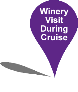 winery visit during cruise