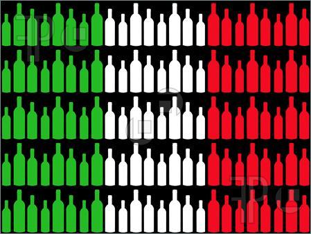 Wine-Bottles-Italian-Flag-1906241